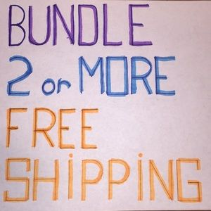 Other - Two or more free shipping